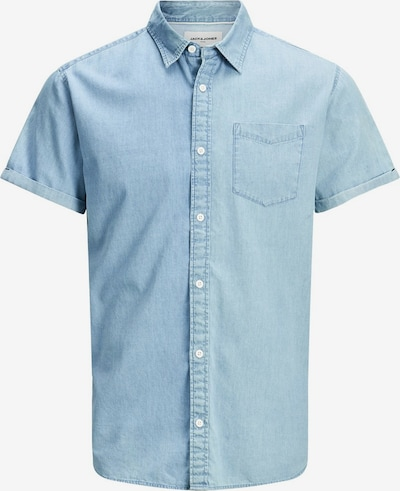 JACK & JONES Hemd in hellblau, Produktansicht