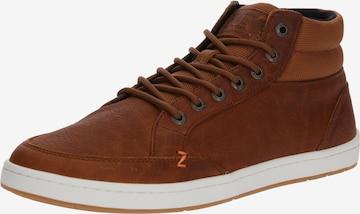 HUB Sneaker 'Industry 2.0' in Braun