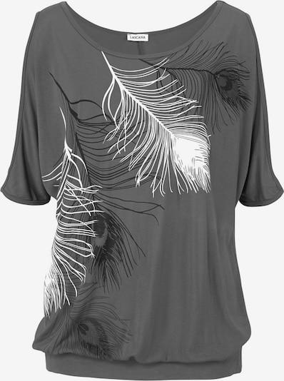 LASCANA Shirt in grau, Produktansicht