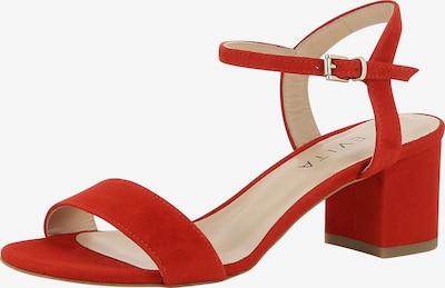 EVITA Sandalette 'Mariella' in rot, Produktansicht