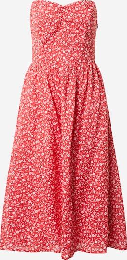 Tommy Jeans Letní šaty - červená / bílá, Produkt