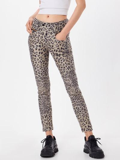 Gang Jeans 'MARGE' in beige / schwarz, Modelansicht