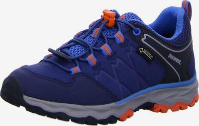 MEINDL Lage schoen in de kleur Blauw / Sinaasappel, Productweergave