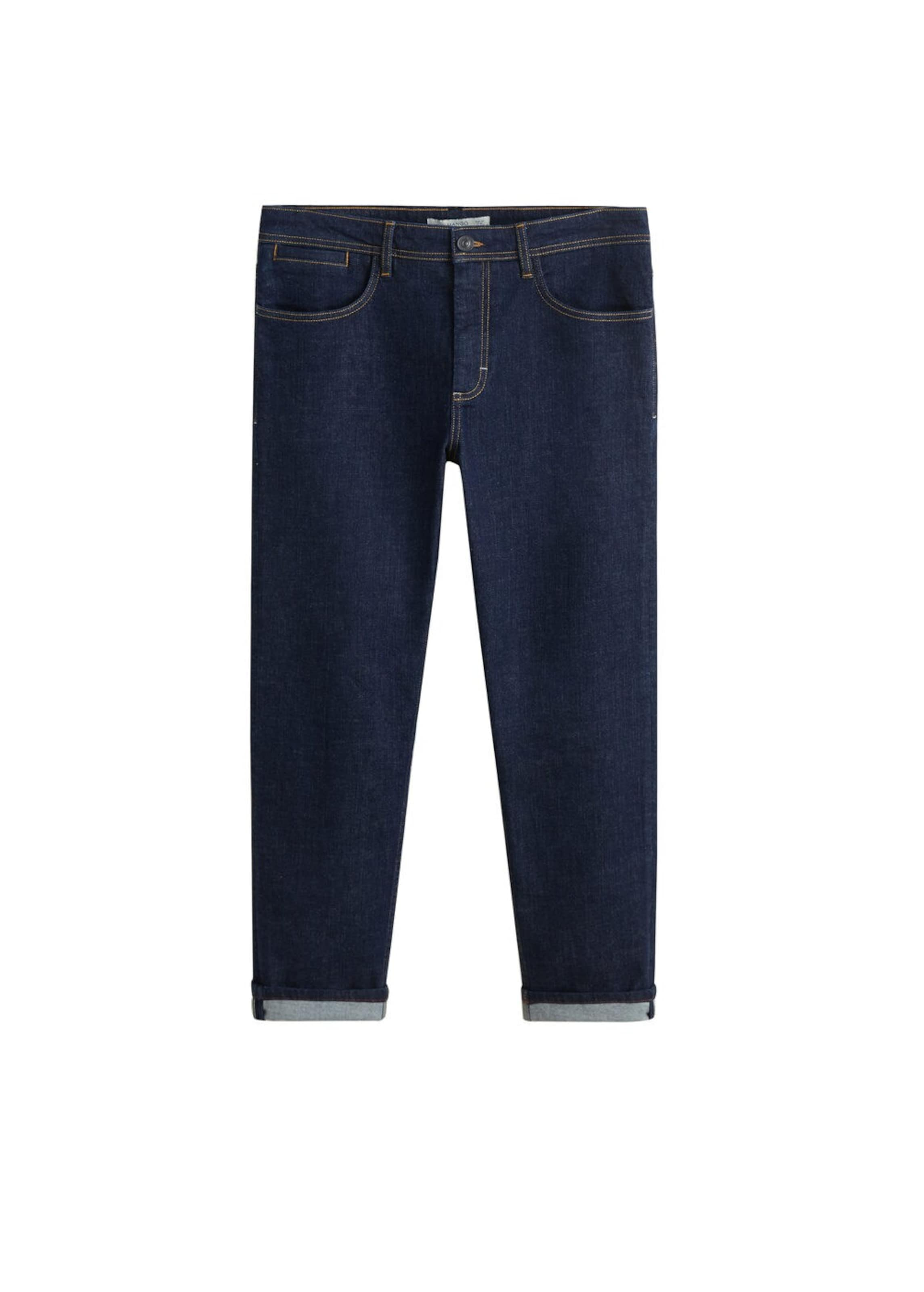Ultramarinblau Man Mango 'james' Jeans In y8n0OvwmPN