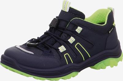 SUPERFIT Chaussure basse 'Jupiter' en bleu foncé / vert fluo, Vue avec produit