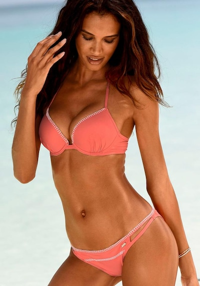 SUNSEEKER Bikini top 'Dainty' in Coral, View model