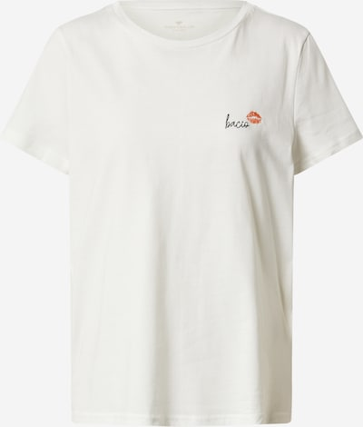 TOM TAILOR Shirt in naturweiß, Produktansicht