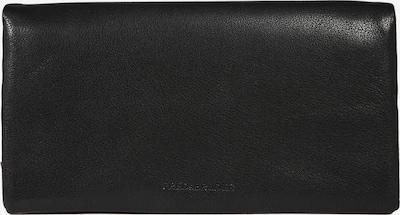 FREDsBRUDER Portemonnaie '2in1 Big' in schwarz: Frontalansicht