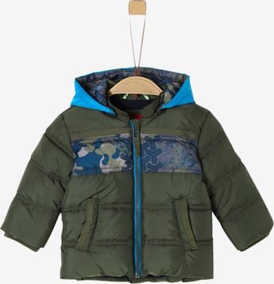 s.Oliver Jacke in blau / dunkelgrün, Produktansicht