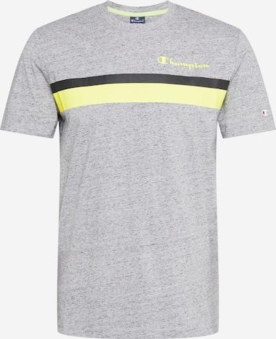 Champion Authentic Athletic Apparel Tričko - žltá / tmavosivá / čierna, Produkt