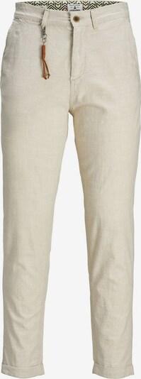 Pantaloni eleganți 'Ace Linen AKM 985' JACK & JONES pe bej, Vizualizare produs