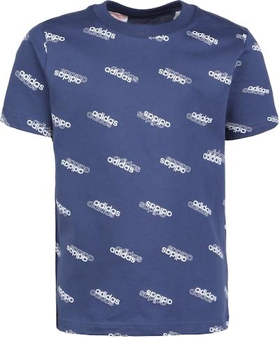 ADIDAS ORIGINALS T-Shirt in blau / weiß, Produktansicht