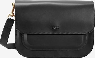 BREE 'Cambridge 7' Umhängetasche Leder 26 cm in schwarz, Produktansicht
