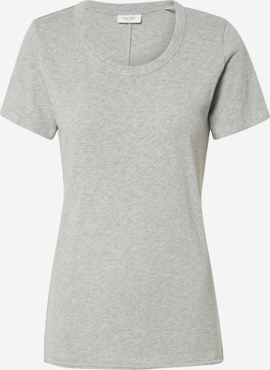 Marc O'Polo DENIM Shirt 'Heavy Slub Crew Neck Tee' in graumeliert, Produktansicht