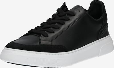 Garment Project Baskets basses 'Off Court' en noir / blanc: Vue de face