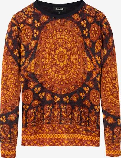 Desigual Pullover 'LUGANO' in marine / braun / schwarz, Produktansicht