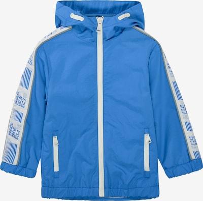 STACCATO Jacke in himmelblau / weiß, Produktansicht