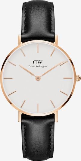 Daniel Wellington Uhr 'Classic Petite Sheffield DW00100174' in gold / schwarz / weiß, Produktansicht
