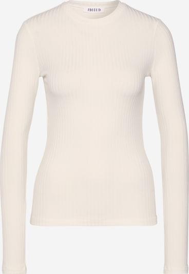 EDITED Langarmshirt 'Ginger' in creme, Produktansicht