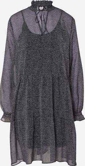CATWALK JUNKIE Kleid 'DR MINI SPOTS' in schwarz / weiß, Produktansicht