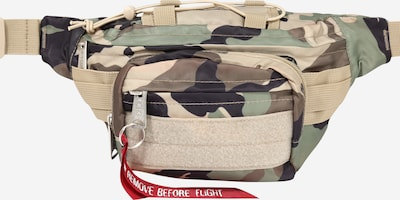 ALPHA INDUSTRIES Gürteltasche 'Tactical' in beige / braun / grün / schwarz, Produktansicht