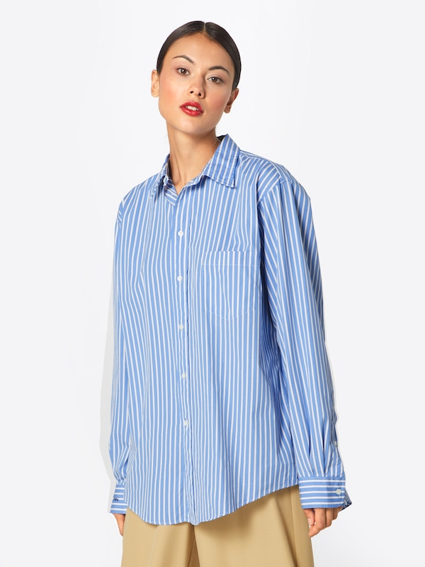 Lauren In Royal Ralph Blouse Polo Blue koningsblauwOffwhite rdtshQCxB