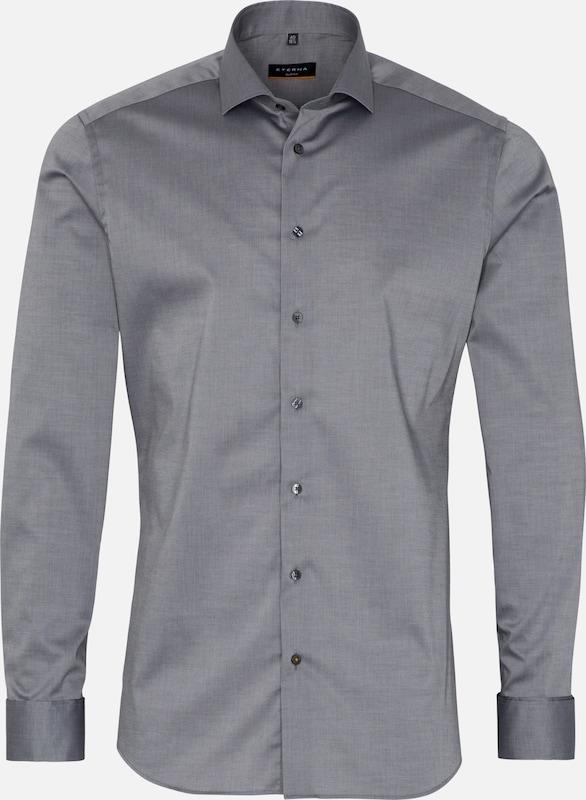 ETERNA Hemd in grau  Große Preissenkung