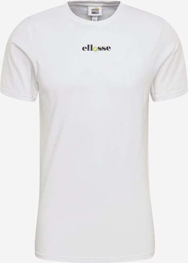 Tricou ELLESSE pe galben / negru / alb, Vizualizare produs