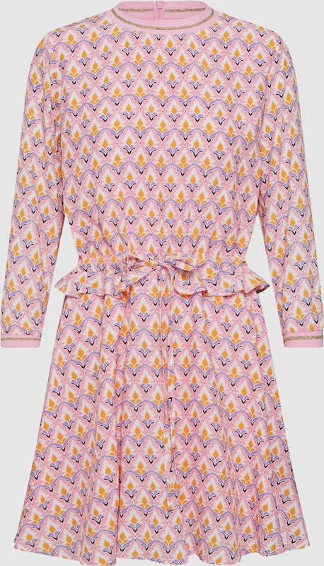 Rich & Royal Kleid in mischfarben   Rosa  Freizeit, schlank, schlank