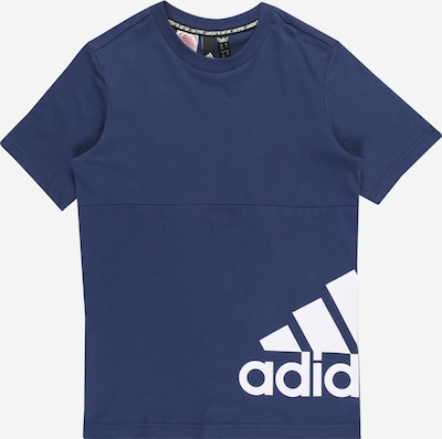 ADIDAS PERFORMANCE Functioneel shirt 'YB MH BOS T2' in de kleur Donkerblauw, Productweergave