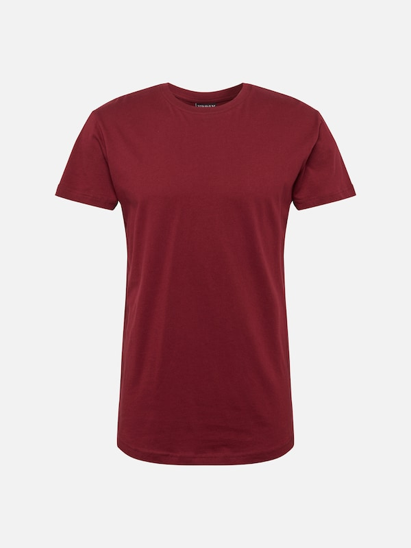 Urban Classics Tee' 'shaped T shirt Long En Bordeaux ROgx8Rqw