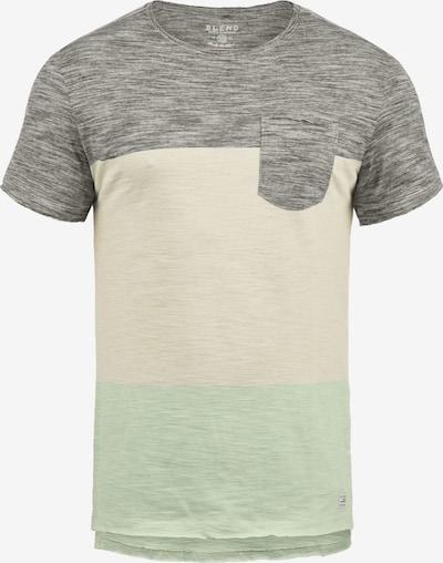 BLEND T-Shirt 'Johannes' in grau: Frontalansicht