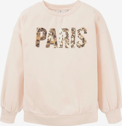 TOM TAILOR Sweatshirt in hellbeige / altrosa, Produktansicht