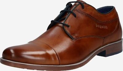 bugatti Čevlji na vezalke 'Licio' | konjak barva, Prikaz izdelka