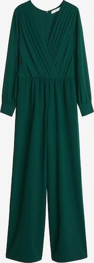 MANGO Overall 'Muro-A' in smaragd, Produktansicht