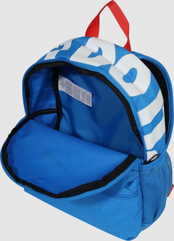0818e9f20fe9e Nike Sportswear Plecak  Nike Brasilia JDI  w kolorze niebieski   czerwonym
