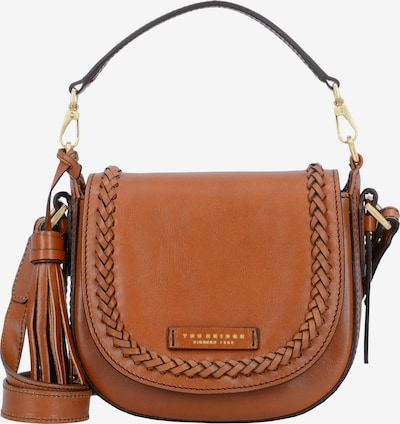 The Bridge Mini Bag Schultertasche 'Murakami' Leder 20 cm in cognac: Frontalansicht