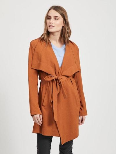 OBJECT Tussenmantel in de kleur Bruin, Modelweergave