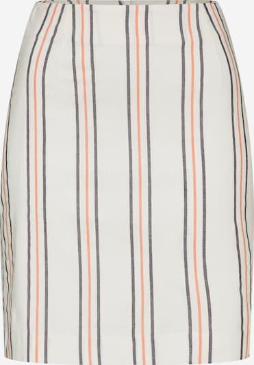 EDITED Rok 'Colleen' in de kleur Crème / Rood / Zwart / Wit, Productweergave