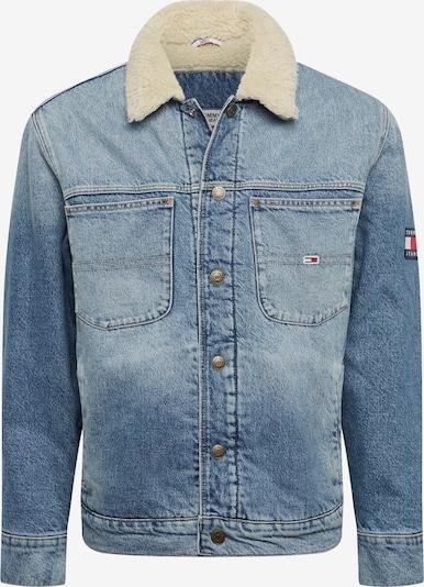 Geacă de primăvară-toamnă 'OVERSIZE SHERPA TRUCKER PRKLR' Tommy Jeans pe denim albastru, Vizualizare produs