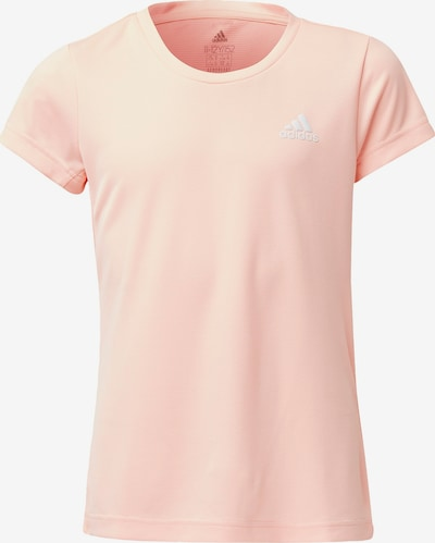 ADIDAS PERFORMANCE Trainingsshirt in rosa / weiß, Produktansicht