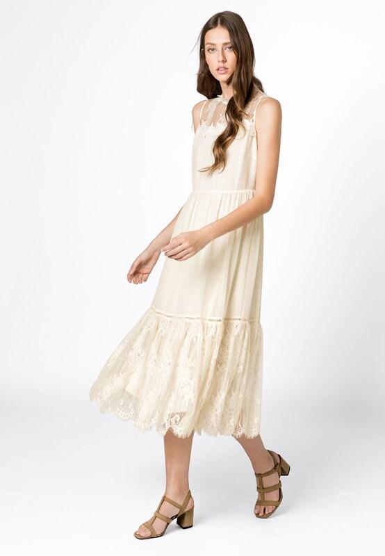 HALLHUBER Kleid in beige | ABOUT YOU