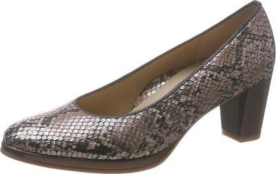 ARA Pumps 'Orly' in taupe / silber, Produktansicht