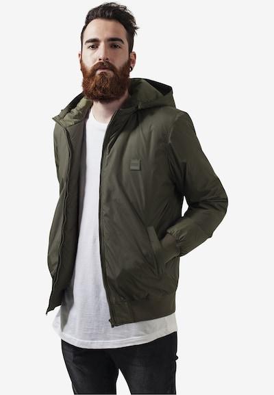 Urban Classics Padded Windbreaker Jacket in oliv: Frontalansicht