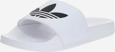 ADIDAS ORIGINALS Pantolette 'Adilette Lite' i svart / vit, Produktvy