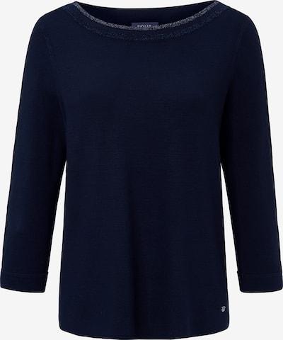Basler Pullover in navy / silber, Produktansicht