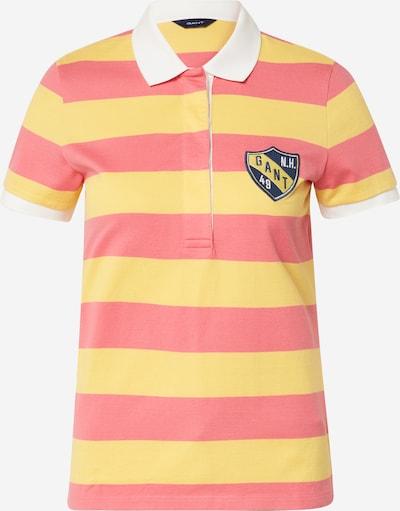 GANT Tričko - žlutá / pink, Produkt