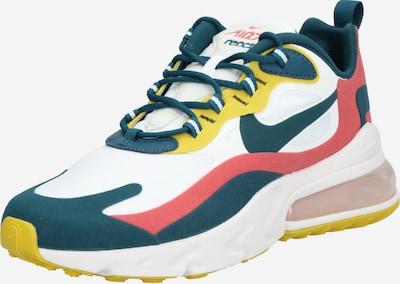 Nike Sportswear Sneaker 'Air Max React' in gelb / smaragd / rot / weiß, Produktansicht