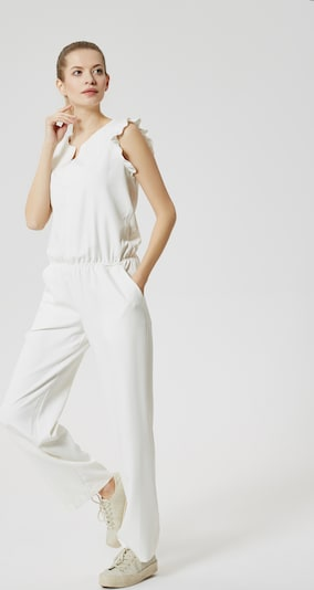 DREIMASTER Maritim Jumper in weiß, Produktansicht