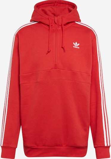 ADIDAS ORIGINALS Hoodie '3-Stripes' in melone / weiß, Produktansicht